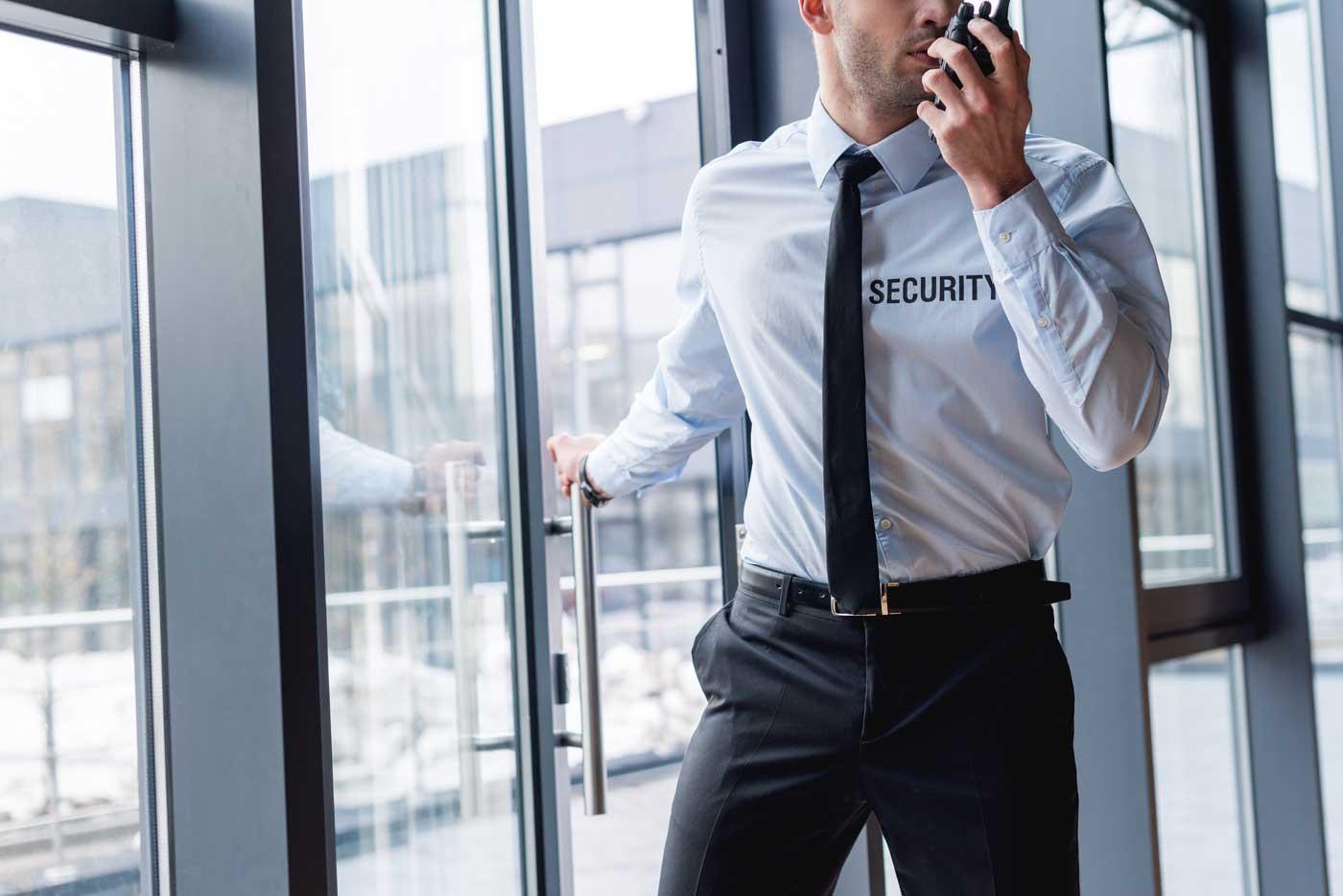 Werkschutz Objektschutz Sicherheitsdienst