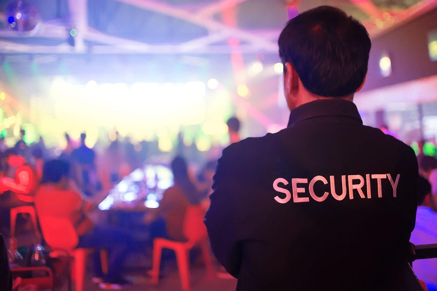 Veranstaltungsschutz Sicherheitsdienst